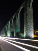 Queretaro Aqueduct — Stock Photo