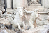 Trevi Fountain Triton — Stock Photo