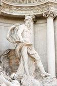 Trevi Fountain Neptune — Stock Photo