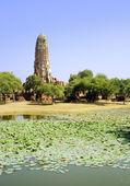 Thajský buddhistický chrám ruin — Stock fotografie