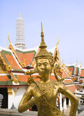 Grand Palace Statue — Stock Photo