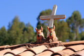 Peru Roof Ornaments — Stock Photo