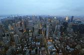 New York City Dawn — Stock Photo