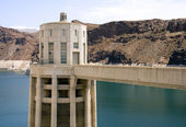 Hoover Dam Intake Tower — Stock Photo