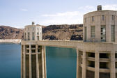 Hoover Dam Intake Towers — Stock Photo