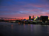 Cincinnati Sunset — Stock Photo
