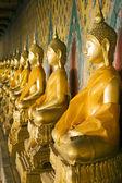 Wat Arun Buddhas — Stock Photo