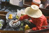 Thai Floating Market — Stock Photo