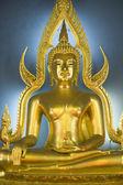 Buddha at Wat Benjamabopith — Stock Photo