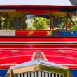 Filipino Jeepney Details with Accents — Stock Photo #2375856