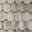 Wood Tile Wall on the Outside of a House — Stock Photo #2375941