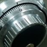 Safe Vault Combination Spinner — Stock Photo