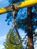 Playground Equipment Closeups Showing Detail — Stock Photo