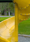 Playground Equipment Closeups Showing Detail on — Stock Photo