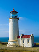 North Head Lighthouse on the Oregon Coast — Stock Photo