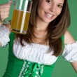 Stock Photo: beer woman