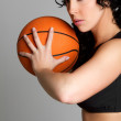 Basketball Woman — Stock Photo #2374338