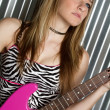 Stock Photo: Rock Star Girl