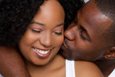 Couple kissing — Photo