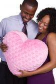 Smiling Black Couple — Stok fotoğraf