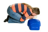 CPR Woman — Stock Photo