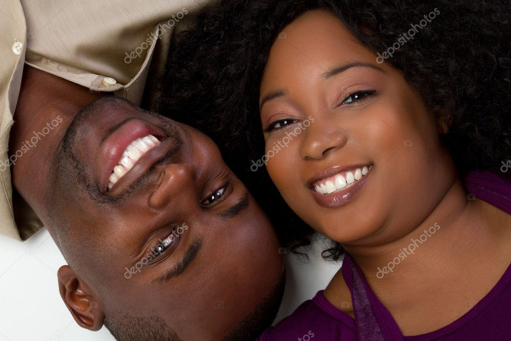 Happy african american couple  Stock Photo #2374256
