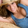 Country Girl - Stock Photo