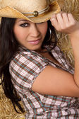 Asian Cowgirl — Stock Photo