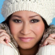 Pretty Winter Woman — Stock Photo