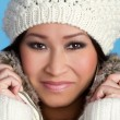Pretty Winter Woman - Stock Photo