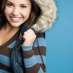 Winter Fashion Girl — Stock Photo