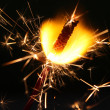 Fireworks Sparkler - Stock Photo