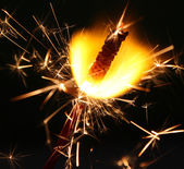 Fireworks Sparkler — Stock Photo