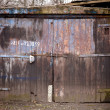 Old garage door — Stock Photo #2404987