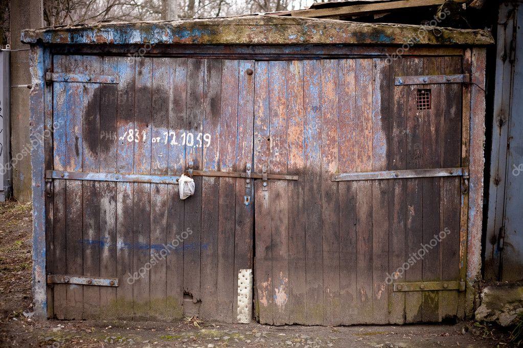 Old garage door stock photo alexeyzel 2404987 for Garage door repair ogden utah