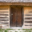 Royalty-Free Stock Photo: Old wooden door