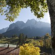 Zugspitze Bavaria Germany - Stock Photo