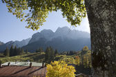 Zugspitze Bavaria Germany — Stock Photo