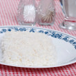 Royalty-Free Stock Photo: Bed of white rice