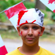 Canada Day Child — Stock Photo