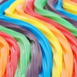 Royalty-Free Stock Photo: Colorful curved licorice