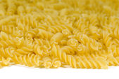 Isolated Fusilli Noodles — Stock Photo