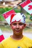 Canada Day Child — Stock Photo