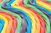 Colorful curved licorice — Stock Photo