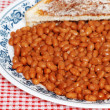 Royalty-Free Stock Photo: Baked beans and toast