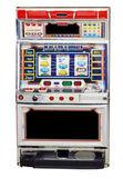 Isolated slot machine — Stock Photo
