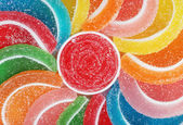 Candy fruit slices — Stock Photo