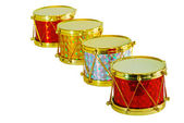 Christmas Drums — Stock Photo