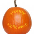 Happy halloween pumpa — Stockfoto