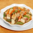 Chunky chicken stew - Stock Photo